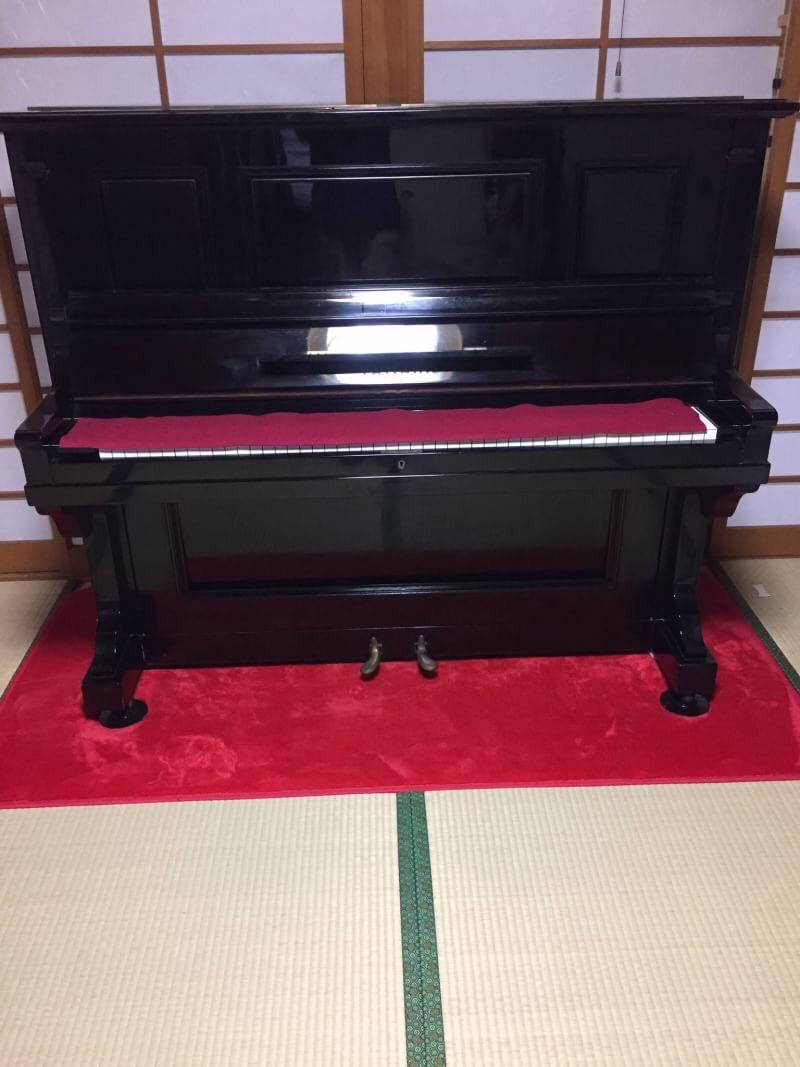 広島市南区でピアノを買い取りました|楽器買取