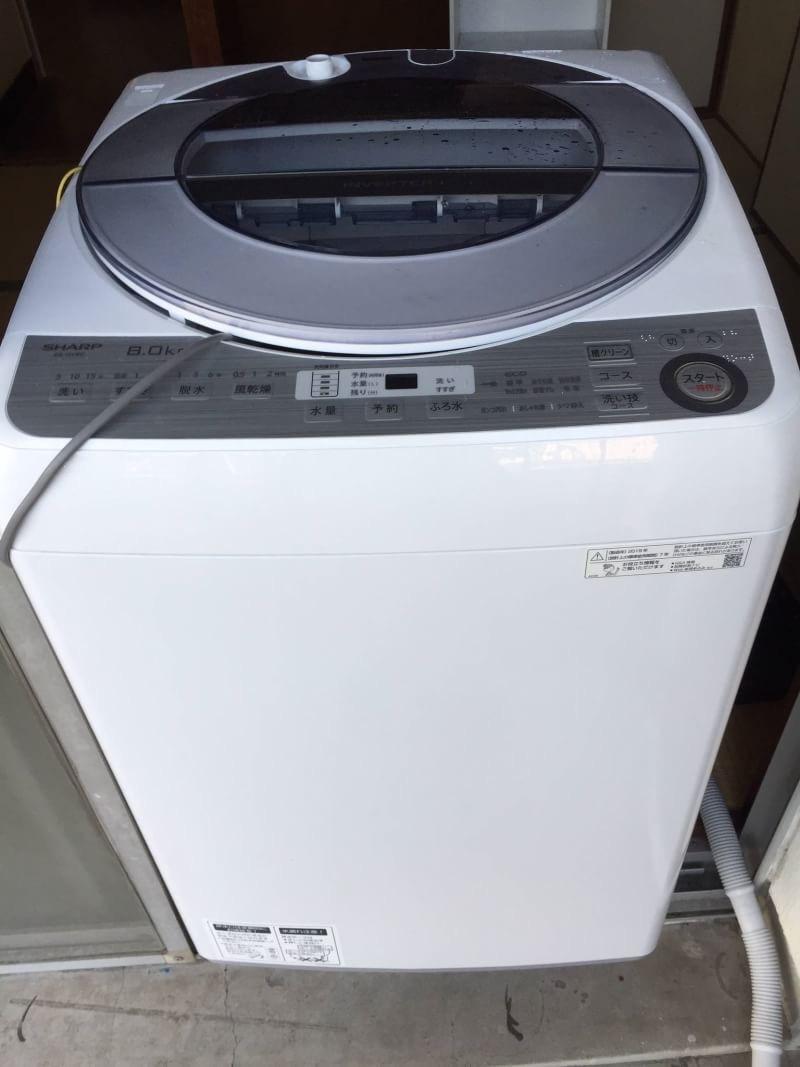 広島市安佐北区でシャープ洗濯機高価買取