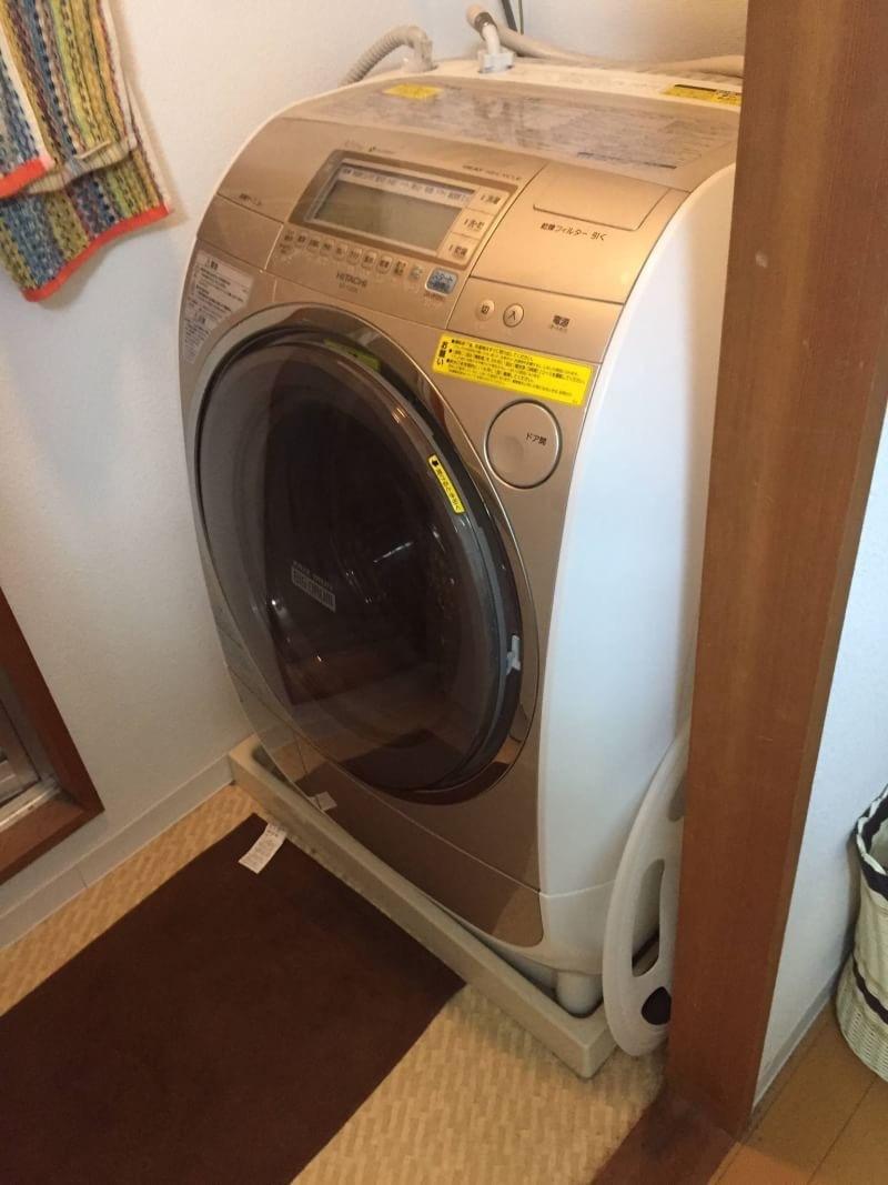 広島市中区でドラム式洗濯機の買取り