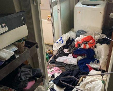 広島市安佐北区でゴミ屋敷になったマンションの片付け