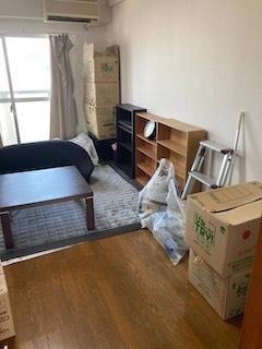 広島市安佐南区で一人暮らし引越しの不用品回収