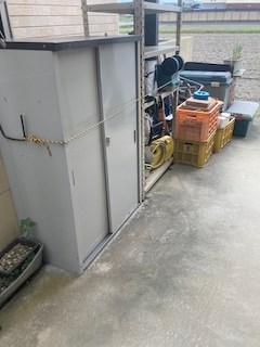 広島市南区で物置を含む外回りの不用品回収