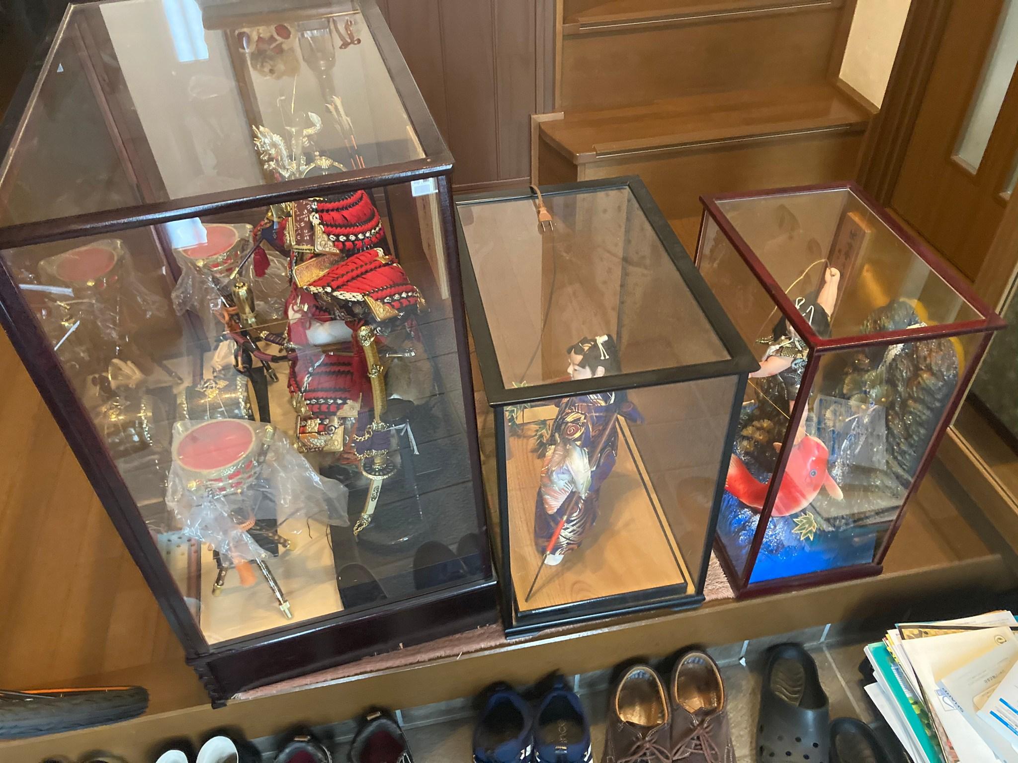広島市西区で五月人形の回収と遺品供養